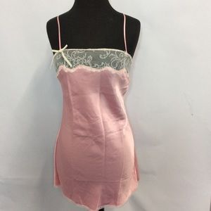 Victoria's Secret Small Pink Chemise Nightgown